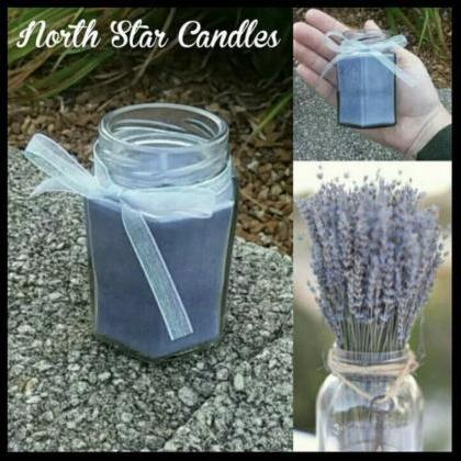 Small Lavender Candle-soy candles-h..