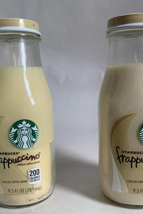 Starbucks Frappuccino Coffee Candle |soy candles |candles with wicks |starbs |coffee candles |party favors |wedding favors |candle votive
