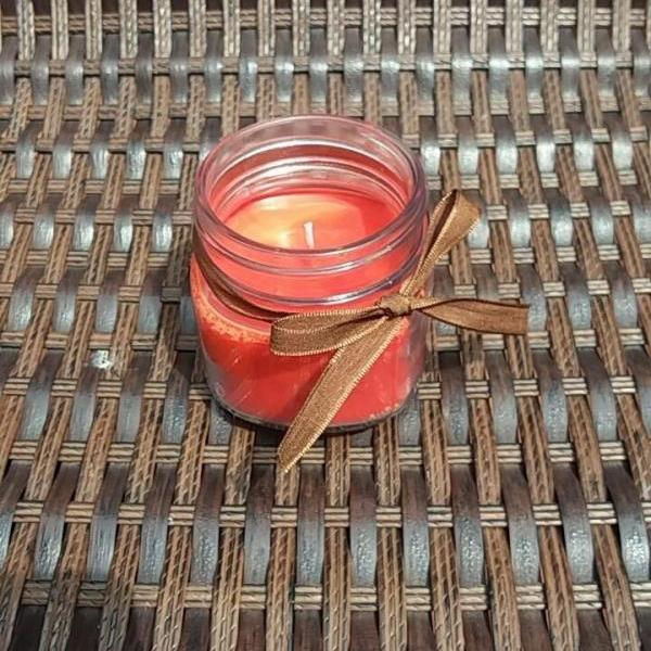 Pumpkin Spice Soy Candle-candle votive-candles with wicks-candle holder-fall scented candles-mason jar candles-soy candles-wax melts